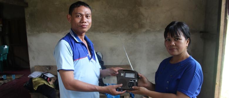 Radio receiver-web