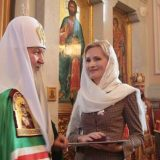 """Russian Orthodox Church gives a medal to Irina Yarovaya, the author of the new law, for """"strengthening moral and spiritual culture of Russia."""""""