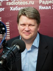 (Victor Akhterov) Being lost for words is not good on the radio!